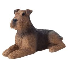 Sandicast Small Size Airedale Terrier Sculpture | from hayneedle.com