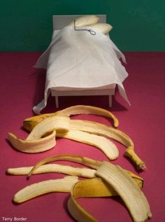 Naughty banana's