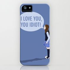 Gilmore Girls: I Love You, You Idiot iPhone & iPod Case