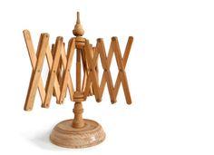 Vintage wooden yarn winder or umbrella yarn swift  by madlyvintage, $64.00