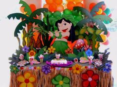 Lilo and Stich party table