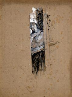 Henri de Toulouse-Lautrec (French, 1864-1901)Behind the scene...