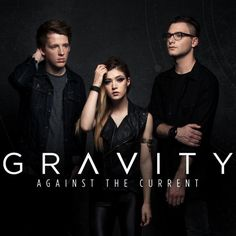 Against The Current「Gravity」ジャケット