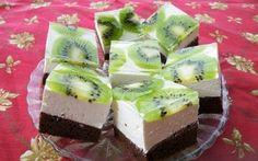 Archívy Dezerty - Page 29 of 41 - Receptik. My Recipes, Cake Recipes, Cooking Recipes, Hungarian Recipes, Love Cake, Kiwi, Cupcake Cakes, Cupcakes, Cheesecake