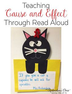 Teaching Cause and Effect Through Read Aloud is a great way to engage students. Students will learn this reading strategy in a whole group environment and are set up for success! Reading Comprehension Skills, Comprehension Activities, Reading Strategies, Reading Skills, Guided Reading, Reading Workshop, Kindergarten Reading, Kindergarten Activities, Kindergarten Teachers
