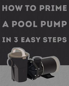 How to Prime a Pool Pump in 3 Easy Steps - interactives. Pool Cleaning Tips, Natural Swimming Pools, Natural Pools, Diy Pool, Pool Fun, Swimming Pool Maintenance, Pool Care, Stock Tank Pool, Intex Pool