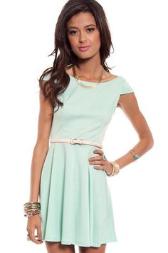Pretty Penny Dress $38 at www.tobi.com