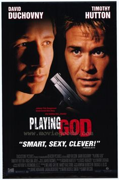 Playing God , starring David Duchovny, Timothy Hutton, Angelina Jolie, Michael Massee. Stripped of his medical license after performing an operation while high on amphetamines, famed LA surgeon... #Crime #Thriller #Drama
