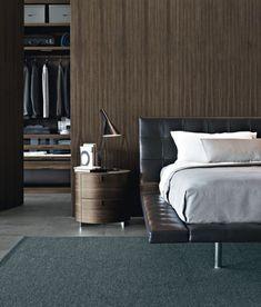 stylish-bachelor-pad-bedroom-with-closet-ideas