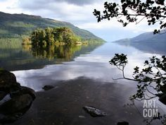 LARGE Tarbet Isle on Loch Lomond, Loch Lomond and the Trossachs National Park Photographic Print by Feargus Cooney at Art.com