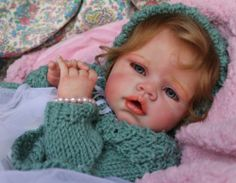 """Romie Strydom Limited Edition Sold Out Angelina Beautiful 24"""" Reborn Baby Doll"""