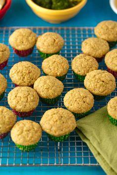 Fruit and Veggie Muffin Recipe. www.superhealthykids.com