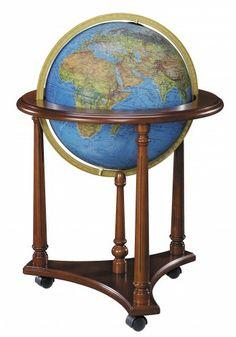 54105 Lafayette (Blue) Floor Globe