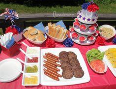 4th of July Picnic #4thofjuly #picnic