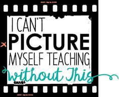 """Classroom Must Haves: Things I Can't """"Picture"""" Myself Teaching Without - Rockin Resources"""