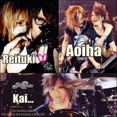 I love you kai♥ ,The Gazette Funny