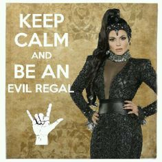 "Lana Parrilla as The Evil Queen from the TV Show ""Once Upon A Time""."