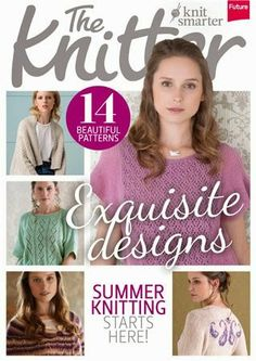 Журналы по вязанию и рукоделию: The Knitter №72 2014