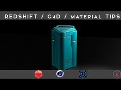 C4D Redshift / Material Tips - YouTube