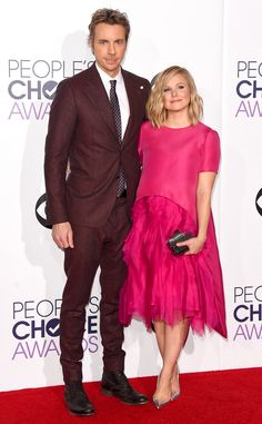 Kristen Bell Debuts Post-Baby Body at People's Choice Awards, Gushes Over Her Second Child With Dax Shepard Dax Shephard, Kristen Bell, People's Choice Awards