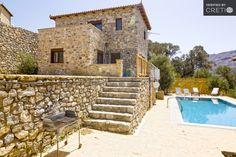 Three bedroom spacious, sunny villa with magnificent view, Kissos | Cretico