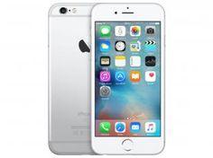 "iPhone 6S Apple 64GB 4G iOS 9 Tela 4.7"" 3D Touch - Câm. 12MP Proc. Chip A9 Touch ID - Prata Bivolt"