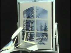 "Bob Ross and ""The Joy of Painting:"" A window on winter (from DVD #D3014D)"