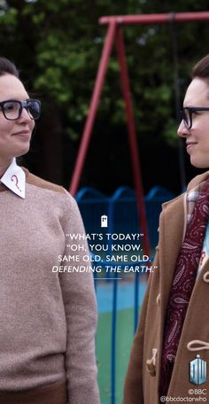 I love Osgood... Both of them.  I am just really mad that she said no to traveling with the Doctor