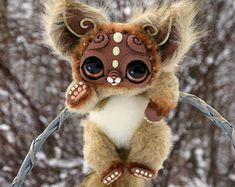 Space Kitten von GakmanCreatures auf Etsy