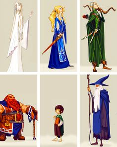 I love these LOTR illustrations