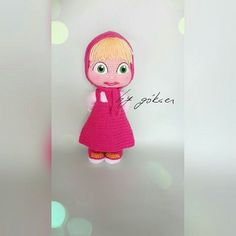 masha #gurumigram #amigurumi #amigurumis #amigurumidoll #dolls #handmade #10marifet by the_amigurumi_planet