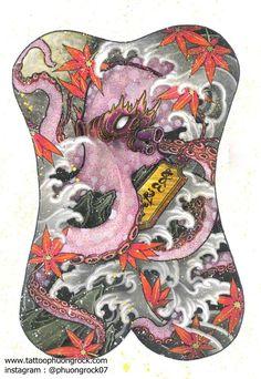 One Piece Japan, C Tattoo, Back Piece Tattoo, Full Back Tattoos, Japan Tattoo, Hybrid Design, Back Pieces, Irezumi, Buddhist Art