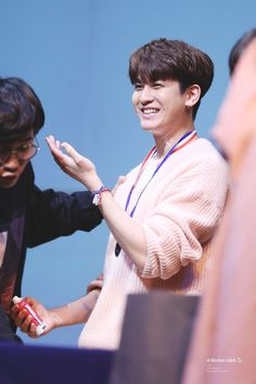 This cute baby making a mess for their manager and those dimples