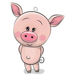 Image result for cute pig cartoon