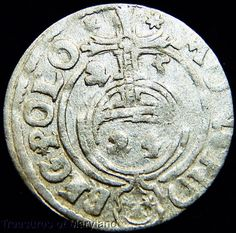 POLAND 1625 Silver 3 POLKER 1/24 Thaler sku #PL1 All Currency, Coin Collecting, 17th Century, Monet, Poland, Coins, Objects, Personalized Items, Silver
