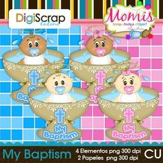 My Baptism - $3.00 : DigiScrap Latino