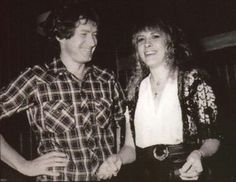 Don Henley and Stevie Nicks.