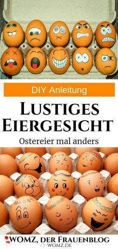 Instructions DIY painting Easter eggs instead of egg coloring - Fall Crafts For Kids Easter Egg Dye, Coloring Easter Eggs, Egg Coloring, Diy Ostern, Gift Of Time, Easter Colors, Fall Crafts For Kids, Cool Diy, Easter Crafts