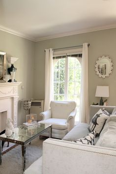 Chic Living Room for a small space.