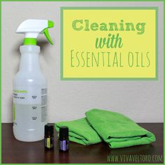 Cleaning with Essential Oils!  {PLUS, a dōTERRA #Giveaway!}
