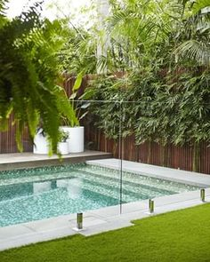 We are the premier pool builders in Sydney. We can design and build you a new concrete swimming pool from start to finish including council submissions. Outdoor Landscaping, Backyard Landscaping, Outdoor Gardens, Small Backyard Patio, Backyard Patio Designs, Sydney, Pool Landscape Design, Concrete Pool, Landscaping Supplies