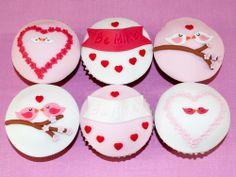 Love bird cupcakes - Beach House Bakery - cakes & cupcakes Bristol & The West Country