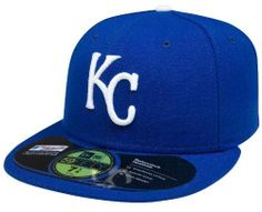 MLB Kansas City Royals Authentic On Field Game 59FIFTY Cap (Blue) by New Era. $16.29. Officially licensed by Major League Baseball. Embroidered Team logo with American flag background outlined in white. synthetic. 100% Polyester fitted Authentic Baseball Cap as worn by all players on the field. Cool Base technology wicks moisture away from the head. Made in the USA. Amazon.com                The official on-field cap of Major League Baseball, New Era's 59FIFTY cap ...