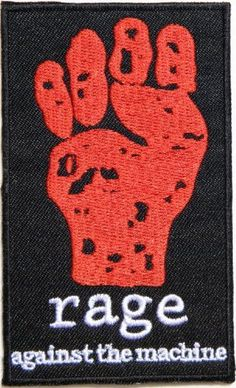 rage against the machine Heavy Metal Rock Punk Music Band Logo Patch Sew Iron on Embroidered Polo T-shirt Vest Cloth,Size 2.5Inch X 4Inch Heavy Metal Rock Patch http://www.amazon.com/dp/B00KX0ANKE/ref=cm_sw_r_pi_dp_LI9Wwb043HDPY