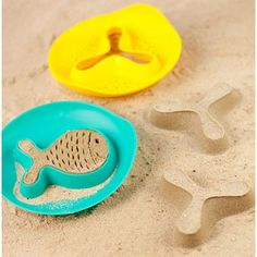 StarFish Magic Shapers - Lagoon Green and Mellow Yellow Quut unisex (bambini) Outdoor Toys, Outdoor Play, Kinetic Sand, Beach Bath, Beach Toys, Sand And Water, Modern Shop, Novelty Items, Classic Toys