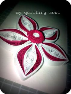 My Quilling Soul: Quilling Tutorial quilled flower tutorial