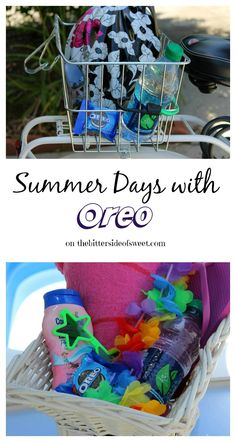 Summer Days with Oreo - The Bitter Side of Sweet #OREOmultipack #sponsored