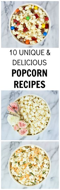 10 Unique & Delicious Popcorn Recipes
