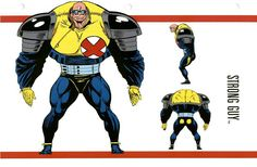 Strong guy Hq Marvel, Marvel Comic Universe, Marvel Heroes, Marvel Comics, Marvel Comic Character, Marvel Characters, Character Model Sheet, Character Design, Zbrush