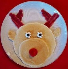 Cute. This would be a cute Christmas breakfast, or a prize for being good in the classroom. The students could get a certain amount of points altogether, and then they get a special breakfast from the teacher, instead of the regular donuts or something. #tryRecipe